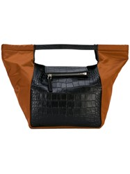 Givenchy Trapeze Tote Bag Women Calf Leather One Size Black