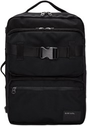 Diesel Black M Cargo Backpack