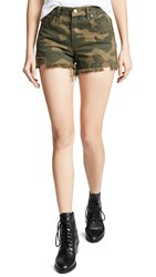 Blank Denim Cutoff Shorts Army Of One