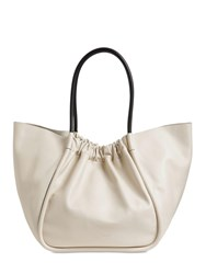 Proenza Schouler Xl Smooth Leather Tote Bag Clay