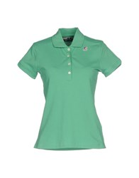 K Way Polo Shirts Light Green