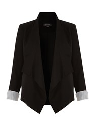 Pied A Terre Waterfall Jacket Black
