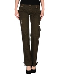 Pinko Sunday Morning Casual Pants Military Green