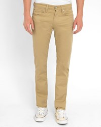 Levi's Beige 511 Slim Fit Trousers