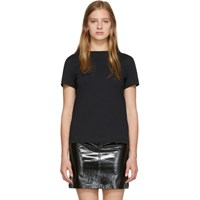 Helmut Lang Black Stacked T Shirt