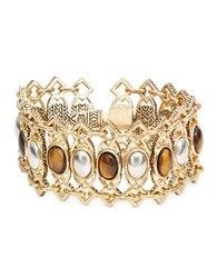 House Of Harlow Lady Grace Statement Bracelet Two Tone
