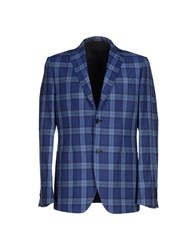 Maestrami Suits And Jackets Blazers Men Pastel Blue