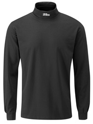 Oscar Jacobson Buck Long Sleeved Rollneck Black