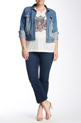 Lucky Brand Emma Bootcut Jean Plus Size Blue