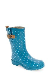 Chooka Women's 'Classic Dot' Mid High Rain Boot