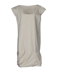 Gossip Knee Length Dresses Light Grey