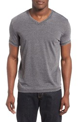 Lucky Brand Men's Burnout T Shirt Black Mountain
