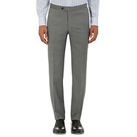 Isaia Men's Gregory Trousers Light Grey Grey Light Grey Grey