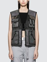 Wasted Paris Tactical Pocket Vest Black