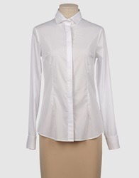 Soallure Long Sleeve Shirts White