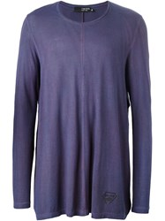 Tom Rebl Long Sleeve T Shirt Pink And Purple