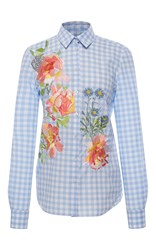 Alice Archer Dusty Fitted Shirt Plaid