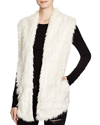 Guess Faux Fur Front Vest