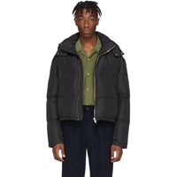 Second Layer Black Down Puffer Jacket