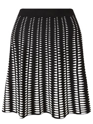 Alice By Temperley Somerset By Alice Temperley Monochrome Mini Skirt Black White