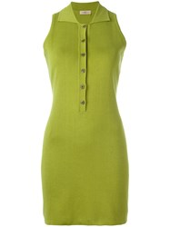 Romeo Gigli Vintage Fitted Dress Green