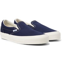 Vans Og Classic Lx Canvas Slip On Sneakers Navy