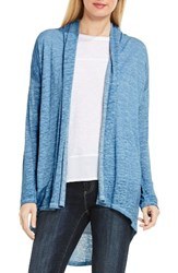 Vince Camuto Women's Two By High Low Linen Cardigan