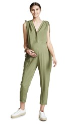Hatch The Twilight Jumpsuit Moss
