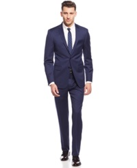 Dkny New Navy Chino Extra Slim Fit Suit