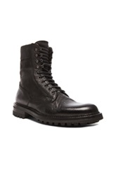 Rag And Bone Rag And Bone Spencer Commando Leather Boots In Black