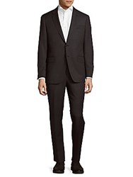 Todd Snyder Mayfair Modern Fit Wool Suit Charcoal