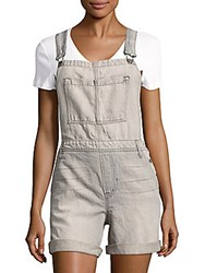J Brand Cotton Blend Textured Coverall Grey