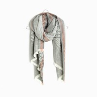 Madewell Angleweave Scarf Neutral