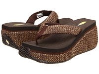 Volatile Tanorama Brown Women's Dress Sandals