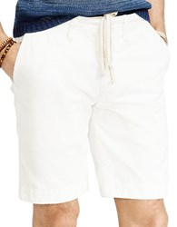 Polo Ralph Lauren Relaxed Fit Twill Surplus Shorts White