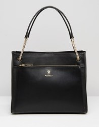 Modalu Leather Shoulder Bag Black