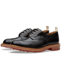 Trickers End. X Tricker's Club Sole Bourton Brogue Black