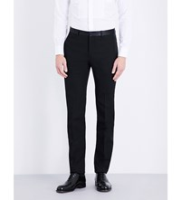 Givenchy Slim Fit Tapered Wool Trousers Black