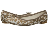 Repetto Cendrillon Sable Coco Women's Flat Shoes Animal Print