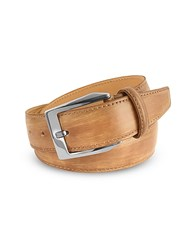 Pakerson Men's Sand Hand Painted Italian Leather Belt