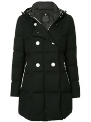 Loveless Double Breasted Coat Black