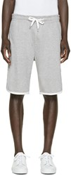 Moncler Grey Classic Lounge Shorts