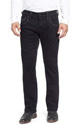 Men's Rock Revival 'Dorsett Alternative' Straight Leg Jeans Black