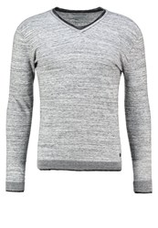 Eleven Paris Ruvi Jumper Light Grey Melanged Mottled Light Grey