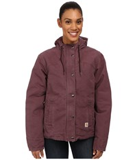 Carhartt Sandstone Berkley Jacket Dusty Plum Women's Jacket Pink