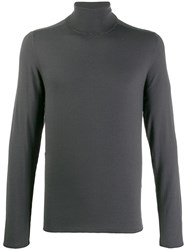 Transit Turtleneck Slim Fit Jumper Grey