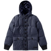 Neighborhood Military Down Jacket Blue