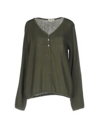 Crossley Blouses Military Green