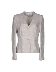 Gai Mattiolo Suits And Jackets Blazers Women Light Grey