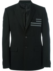 Givenchy Flag Detail Blazer Black